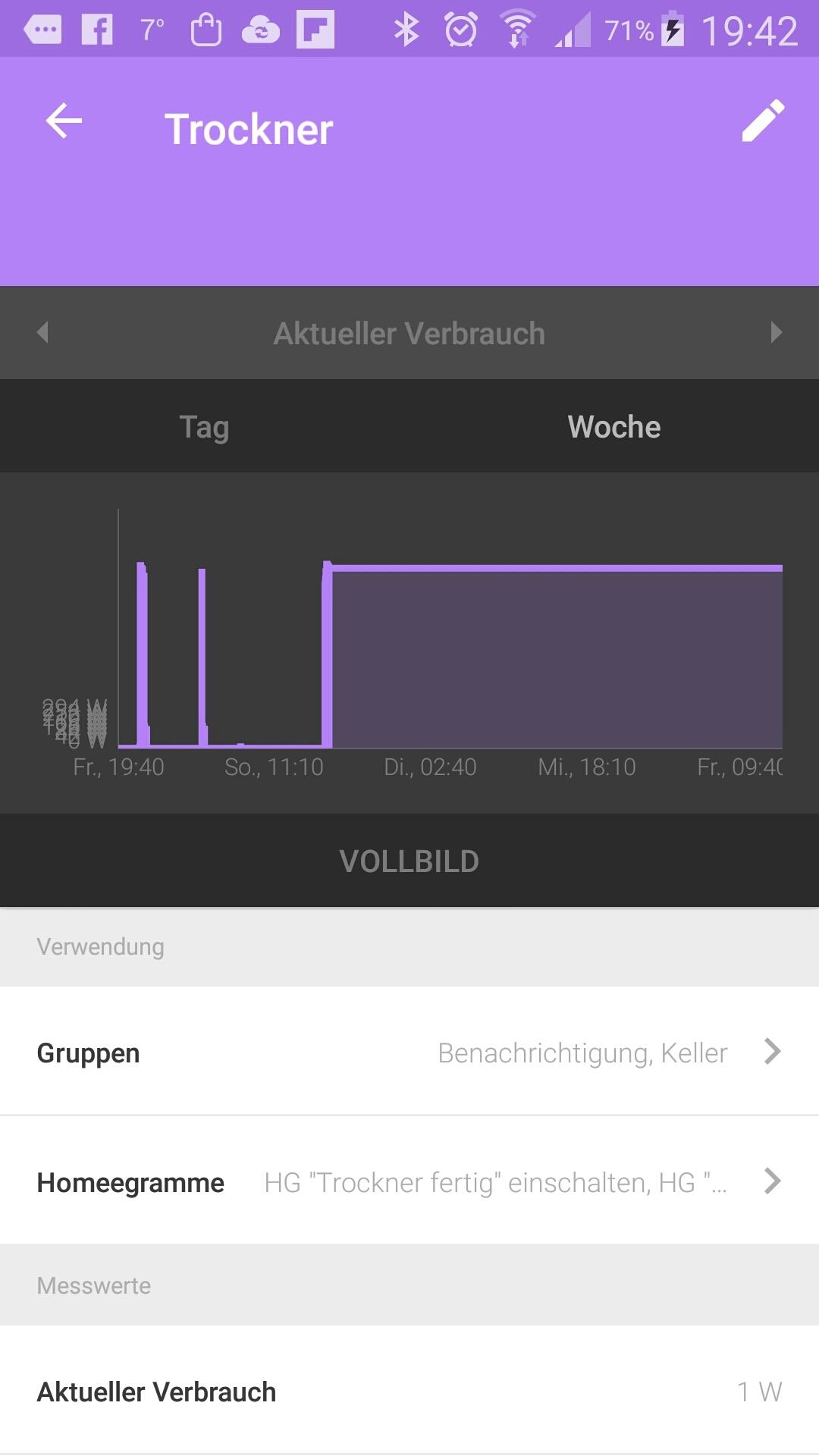 verbrauchsdiagramme fehlerhaft android app homee community. Black Bedroom Furniture Sets. Home Design Ideas