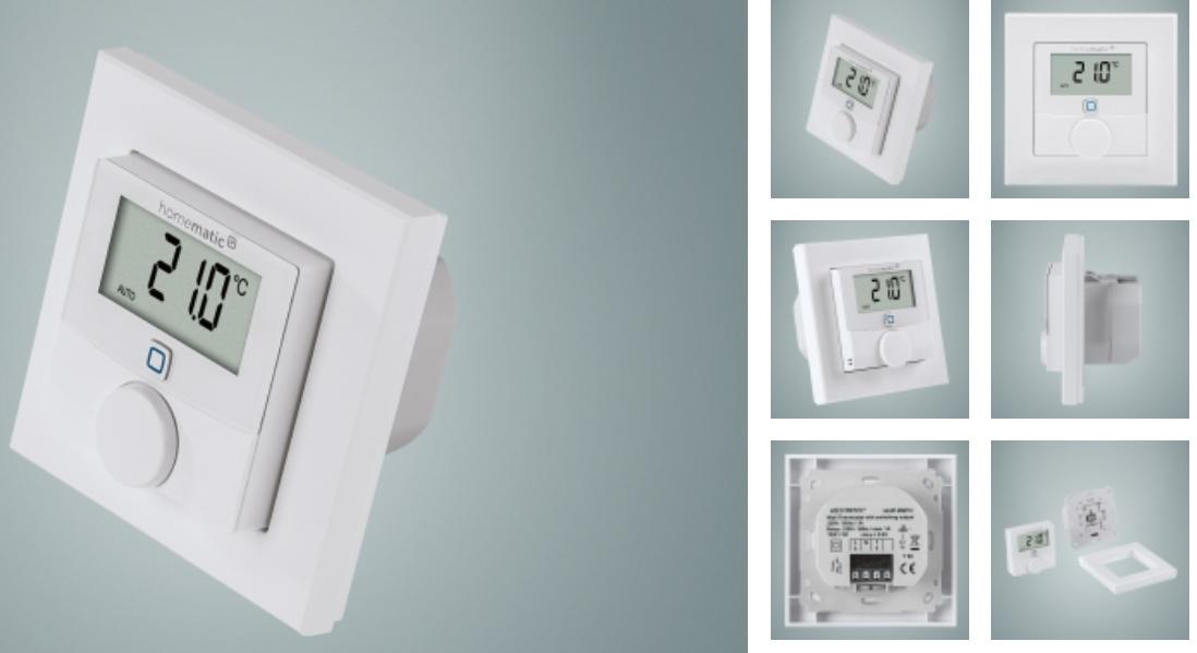 Wandthermostat mit 230V Schaltausgang für FBH - Gerät vorschlagen ...