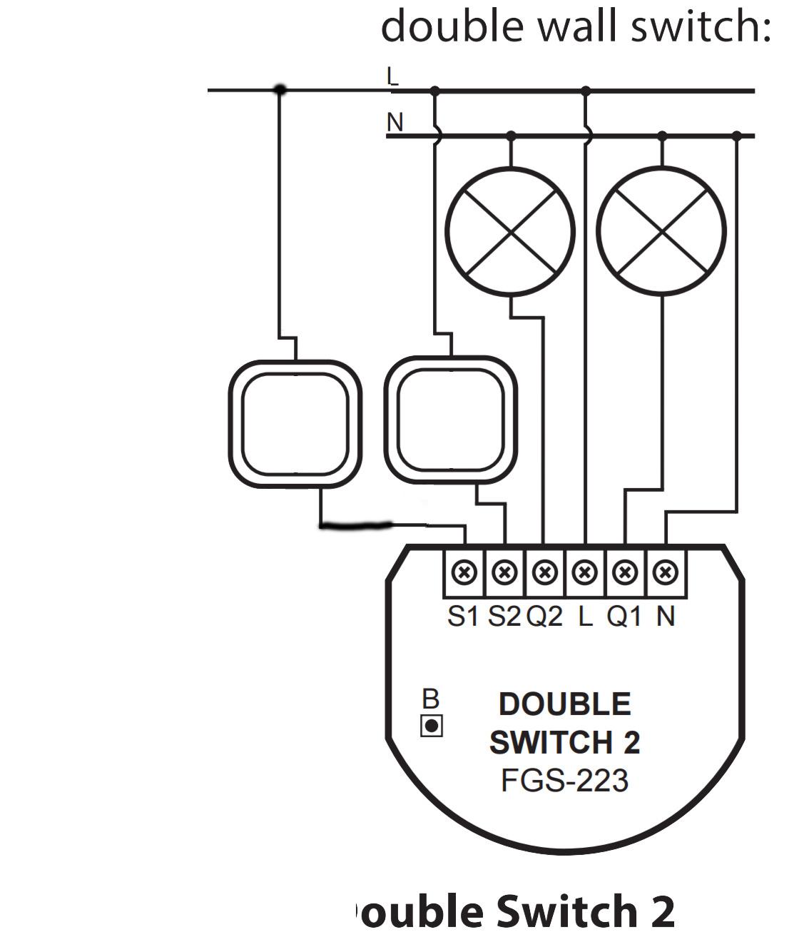 Berühmt Zwei Schalter Ein Licht Ideen - Schaltplan Serie Circuit ...