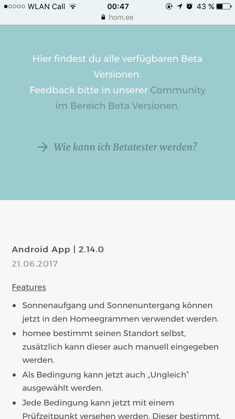 Datum Android Beta App Falsch Geschlossen Android Beta